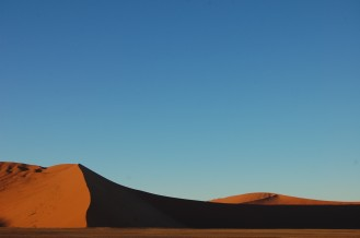 Sunrise in the Namib